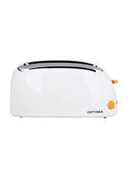 Optima 4-Slice Pop Up Toaster, 1300W, CT1600, White