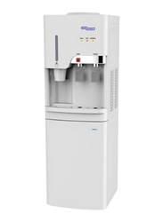Super General Floor Standing Top Load Water Dispenser, with Cabinet, Cup Holder, SGL1871, White