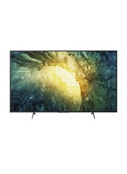 Sony Bravia 65-Inch 4K Ultra HD Smart LED Android TV, KD-65X7577H, Black
