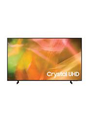 Samsung 43-Inch Flat Dynamic 4K Crystal Ultra HD Smart LED TV, UA43AU8000UXZN, Black