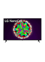 LG 55-Inch NanoCell 4K Ultra HD LED Smart TV, 55NANO80, Black