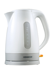 Kenwood 1.6L Electric Plastic Kettle, 3000W, JKP280, White