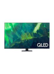 Samsung 55-Inch Flat 4K Ultra HD Smart QLED TV, QA55Q70AAUXZN, Black