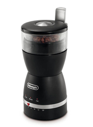 Delonghi Electric Stainless Steel Coffee Grinder, 170W, KG49, Black