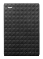 Seagate 2TB HDD Expansion External Portable Hard Drive, USB 3.0, Black