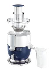 Black+Decker Juice Extractor, 1000W, JE350-B5, White