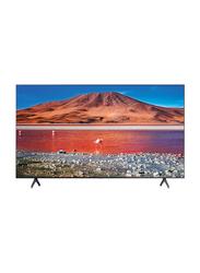 Samsung 43-Inch Flat 4K Crystal Ultra HD Smart LED TV, UA43TU7000UXZN, Black