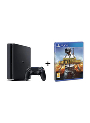 Sony PlayStation 4 Slim Console, 1TB, with 1 Controller and Game (Players Unknown's Battlegrounds), Black