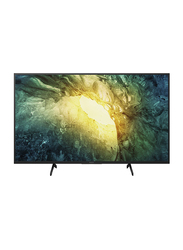 Sony Bravia 49-Inch 4K Ultra HD Smart LED Android TV, KD-49X7500H, Black