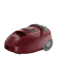 Hitachi Canister Vacuum Cleaner, CVW1600, Red