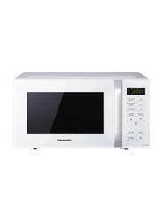 Panasonic 25L Microwave Oven, 800W with Quick 30 Function, NNST34H, White