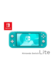 Nintendo Switch Lite Handheld Gaming Console, 32GB, Turquoise