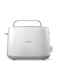 Philips 2-Slice Daily Collection Toaster, 900W, HD2581, White