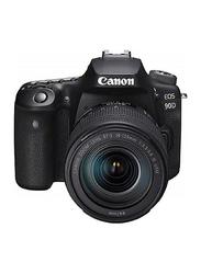 Canon EOS 90D Digital DSLR Camera with 18-135 IS USM Lens, 32.5 MP, Black