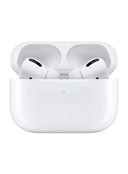 Apple AirPods Pro Wireless In-Ear Noise Cancelling Headphones with Wireless Charging Case, White