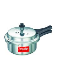 Prestige 2 Ltr Aluminium Pressure Cooker, MPP22100, 13.4x8.1x4.8 cm, Silver