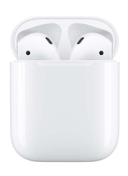 Apple AirPods Wireless In-Ear Headphones with Charging Case, White