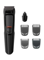 Philips 6-in-1 Cordless Multi Grooming Kit, MG3710, Black
