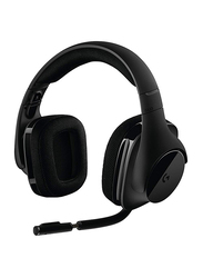 Logitech G Series G533 Wireless Over-Ear Noise Cancelling 7.1 Surround Gaming Headset, Black