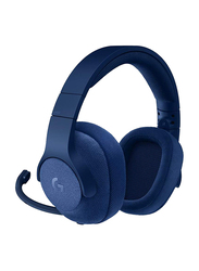 Logitech G Series G433 Over-Ear Noise Cancelling 7.1 Surround Gaming Headset, Royal Blue