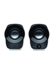 Logitech Z120 Mini Stereo Speaker, Black/White