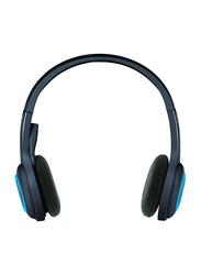Logitech H600 Wireless On-Ear Noise Cancelling Bluetooth Headset, Black