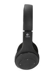 Logitech H800 Wireless On-Ear Noise Cancelling Bluetooth Headset, Black