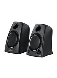 Logitech Z130 Stereo Speaker, Black