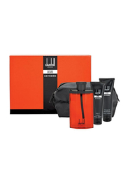 Dunhill 3-Piece Desire Extreme Gift Set for Men, 100ml EDT, 90ml Shower Gel, 90ml After Shave Balm