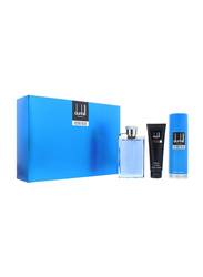 Dunhill 3-Piece Desire Blue Gift Set for Men, 100ml EDT, 90ml Shower Gel, 90ml Body Spray