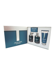 Yacht Man 3-Piece Dare Gift Set for Men, 100ml EDT, 150ml Shower Gel, 100ml After Shave Lotion