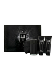 Dunhill 4-Piece London Icon Elite Gift Set for Men, 100ml EDP, 90ml Shower Gel, 90ml After Shave Balm, Bag