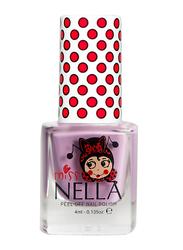 Miss Nella Nail Polish, 4ml, MN 02 Bubble Gum, Purple