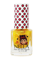 Miss Nella Nail Polish, 4ml, MN 17 Honey Twinkles, Yellow