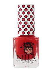 Miss Nella Nail Polish, 4ml, MN 07 Strawberry-N-Cream, Red
