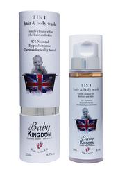 Baby Kingdom 250ml 2 in 1 Hair & Body Wash for Kids