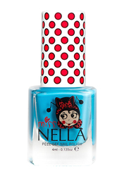 Miss Nella Nail Polish, 4ml, MN 01 Mermaid Blue