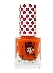 Miss Nella Nail Polish, 4ml, MN 14 Poppy Fields, Orange