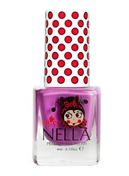 Miss Nella Nail Polish, 4ml, MN 04 Little Poppet, Purple