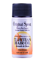 Original Sprout Tahitian Hair Oil for All Hair Types, 0.5oz