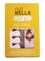 Miss Nella Nail & Accessories Set, Multicolor