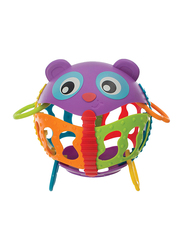 Playgro Junyju-Roly Poly Activity Ball, Multicolor