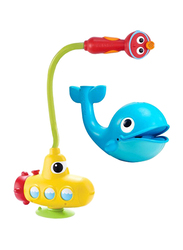 YooKidoo Submarine Spray Station for Kids, Whale, Multicolor