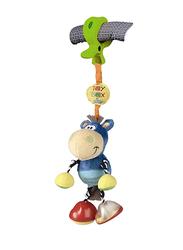 Playgro Clip Clop Activity Rattle Soft Toy, Multicolor
