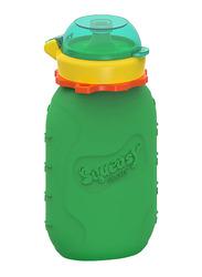 Squeasy Gear Snacker Bottle 175ml, Green