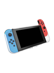 Venom Protective Shell Case with Game Storage for Nintendo Switch, Clear