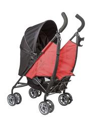 Summer Infant 3D Flip Convenience Stroller, Rerun Red