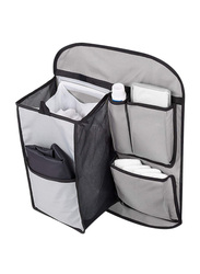 Summer Infant Tidy Travels Organizer with Change Pad, Black/Grey