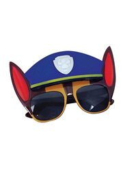Sun Staches Officially Licensed Paw Patrol Chase Sunglasses for Kids, Blue/Black/Red