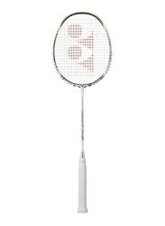 Yonex Arcsaber 10 LPG Badminton Rackets with Cover, 3U G4, Pearl White